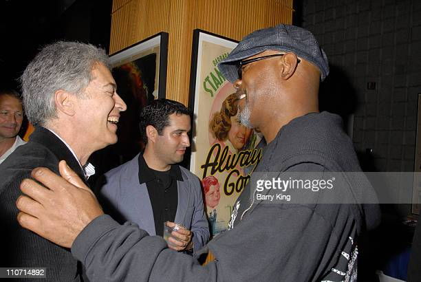 20070822 CA 20070822 CA 20070822 CA Screenwriter Michael Bortman and actor Samuel L Jackson attend the 'Resurrecting the Champ' after party held at...