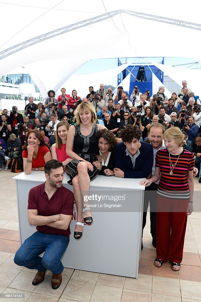 'Un Chateau En Italie' Photocall - The 66th Annual Cannes Film Festival