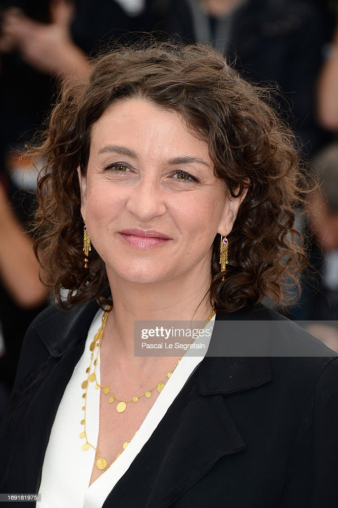 Screenwriter Noemie Lvovsky attends the 'Un Chateau En Italie' Photocall during The 66th Annual Cannes Film Festival at the Palais des Festivals on May 21, 2013 in Cannes, France.