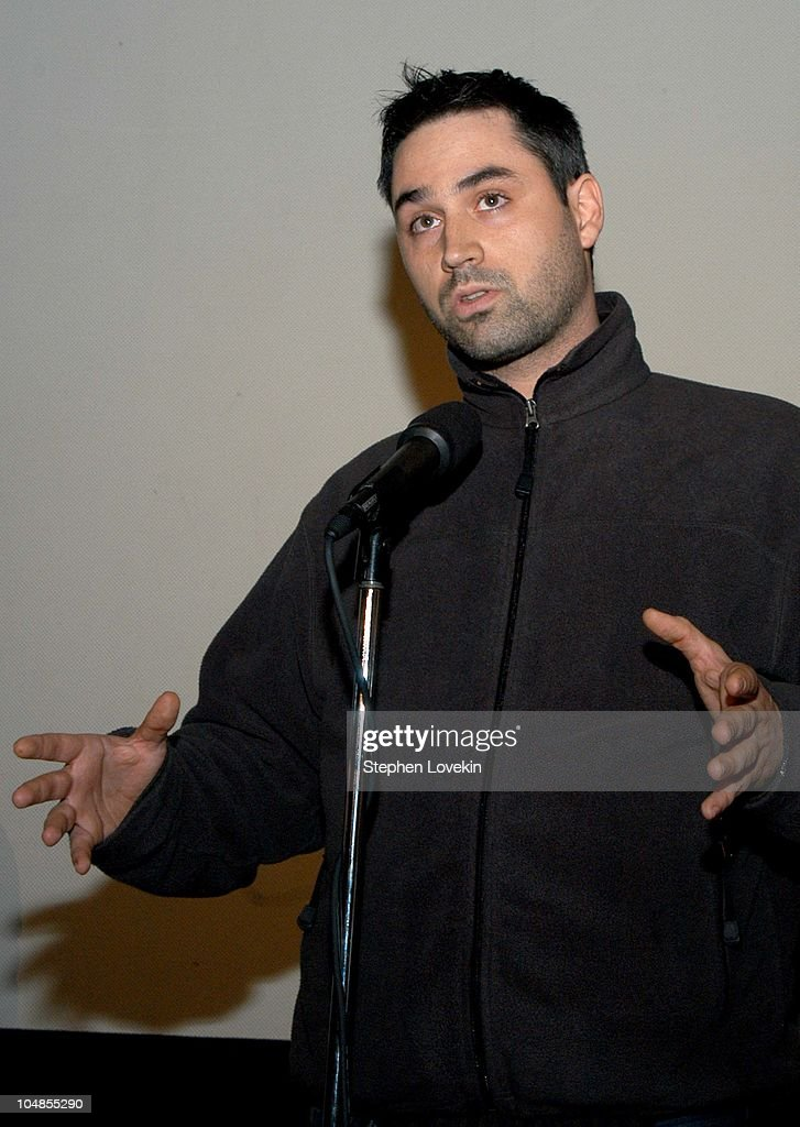 Screenwriter of '28 Days Later' Alex Garland during Nantucket Film Festival 8 - Final Screening of '28 Days Later' at The Dreamland Theatre in Nantucket, Massachusetts, United States.