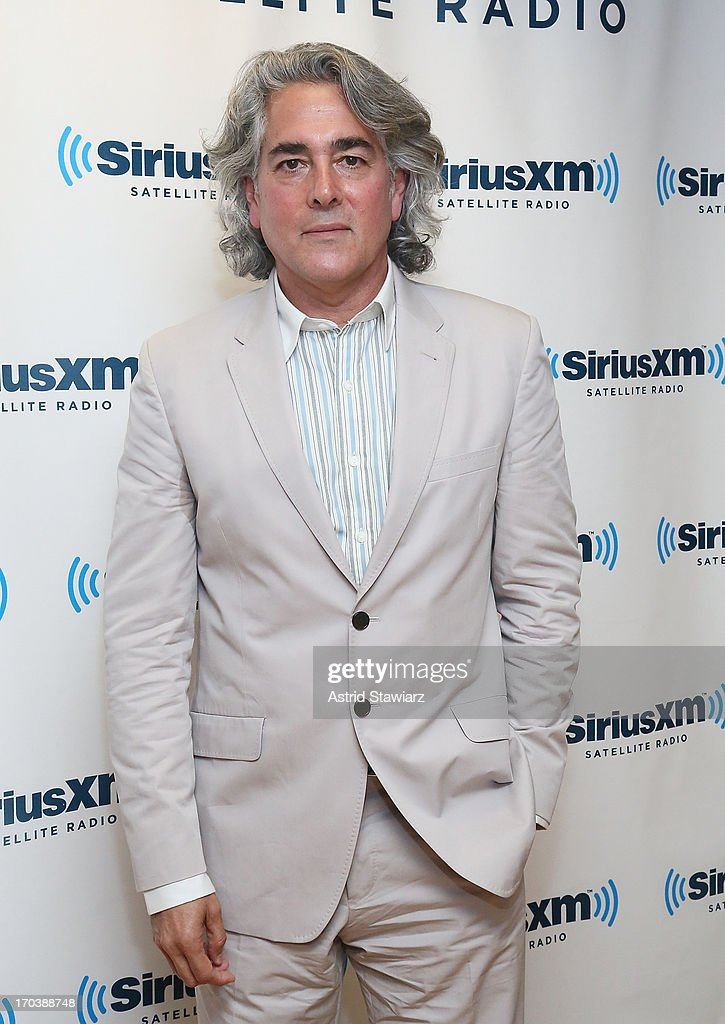 Screenwriter of 'Magic City', <a gi-track='captionPersonalityLinkClicked' href=/galleries/search?phrase=Mitch+Glazer&family=editorial&specificpeople=666735 ng-click='$event.stopPropagation()'>Mitch Glazer</a> visits the SiriusXM Studios on June 12, 2013 in New York City.