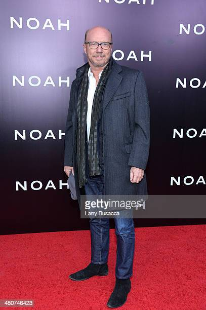 Screenwriter Paul Haggis attends the New York premiere of Paramount Pictures' 'Noah' at the Ziegfeld Theatre on March 26 2014 in New York City