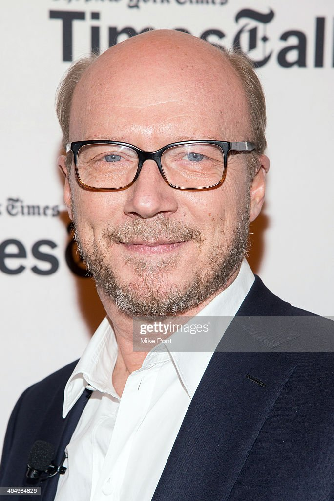 Screenwriter Paul Haggis attends TimesTalks Presents An Evening With 'Going Clear: Scientology and the Prison of Belief' at The Times Center on March 2, 2015 in New York City.