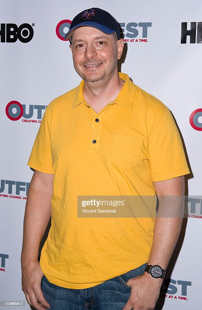 Screenwriter Peter Mercurio attends the Outfest Film Festival - Screenwriting Lab Reading at Directors Guild Of America on July 18, 2013 in Los Angeles, California.