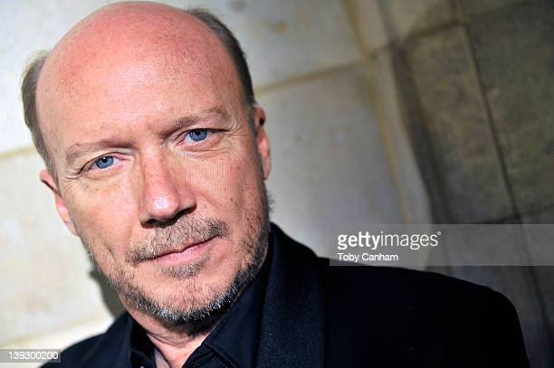 Screenwriter producer and director Paul Haggis is honoured with a Scripter Literary Achievement award presented by USC on February 18 2012 in Los...