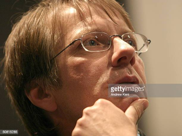 Screenwriter Ron Nyswaner speaks at the Unraveling The Code Rosalind Franklin and DNA panel during the 2004 Tribeca Film Festival May 8 2004 in New...