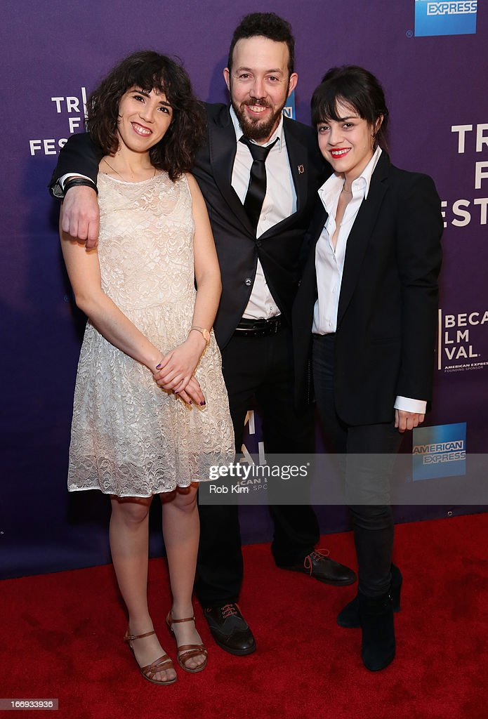 Screenwriter Rona Segal, director Jonathan Gurfinkel, and actor Sivan Levy attend the 'Six Acts' North American Premiere during the 2013 Tribeca Film Festival on April 18, 2013 in New York City.