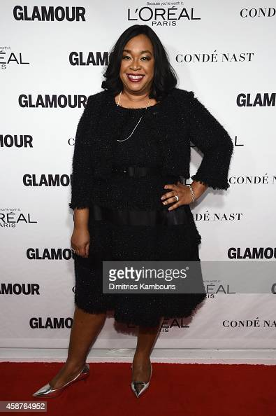 Screenwriter Shonda Rhimes attends the Glamour 2014 Women Of The Year Awards at Carnegie Hall on November 10 2014 in New York City