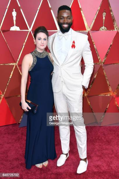 Screenwriter Tarell Alvin McCraney and guest attend the 89th Annual Academy Awards at Hollywood Highland Center on February 26 2017 in Hollywood...
