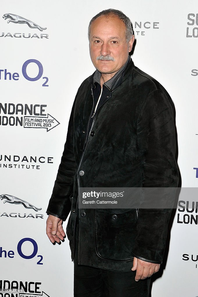Screenwriter Tony Grison attends the Screenwriting Flash Lab during the Sundance London Film And Music Festival 2013 at Sky Superscreen O2 on April 27, 2013 in London, England.