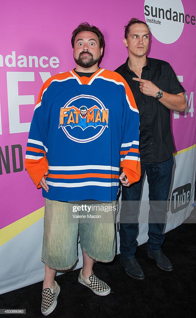 Screenwriter/actor/producer Kevin Smith arrives at Sundance NextFest Film Festival Premiere Of 'Life After Beth' at The Theatre At The Ace Hotel on August 8, 2014 in Los Angeles, California.