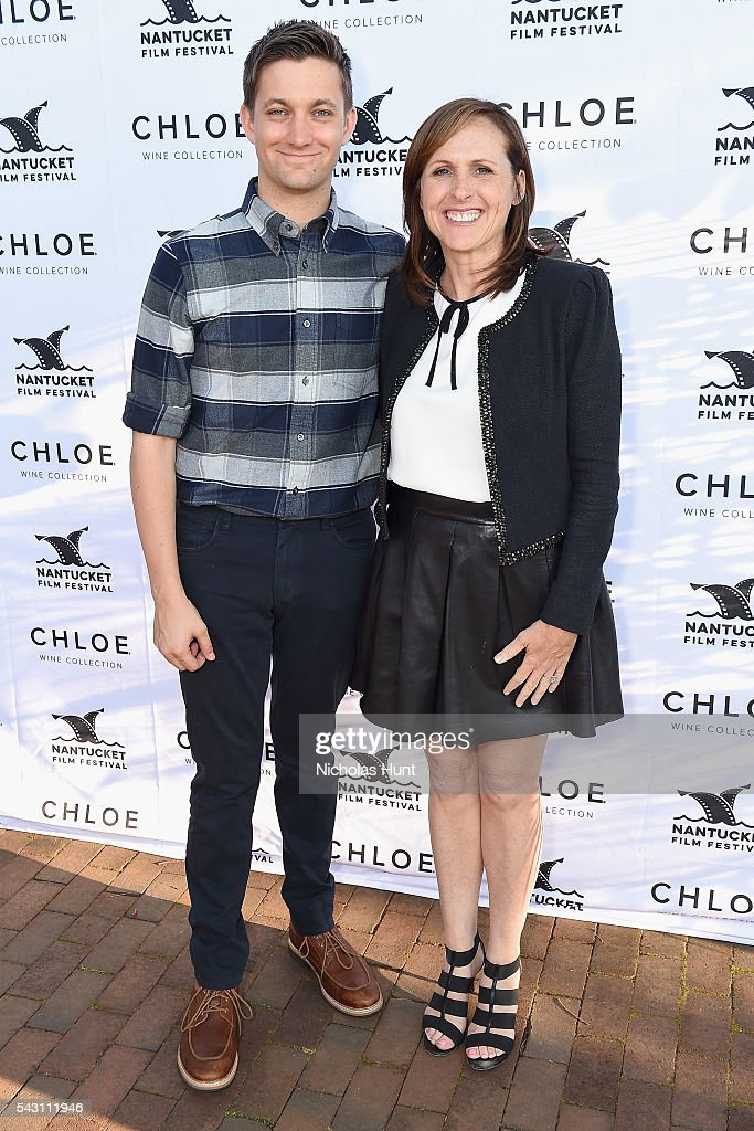 Screenwriter/Director Christopher Kelly (L) and Comedian Molly Shannon attend the Screenwriters Tribute at the 2016 Nantucket Film Festival Day 4 on June 25, 2016 in Nantucket, Massachusetts.