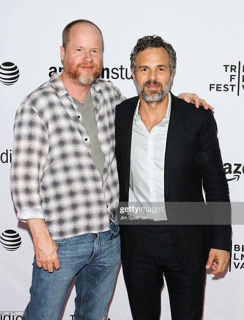 Screenwriter/Director Joss Whedon and actor Mark Ruffalo attend the 2016 Tribeca Film Festival Tibeca Talks Directors Series Joss Whedon with Mark...