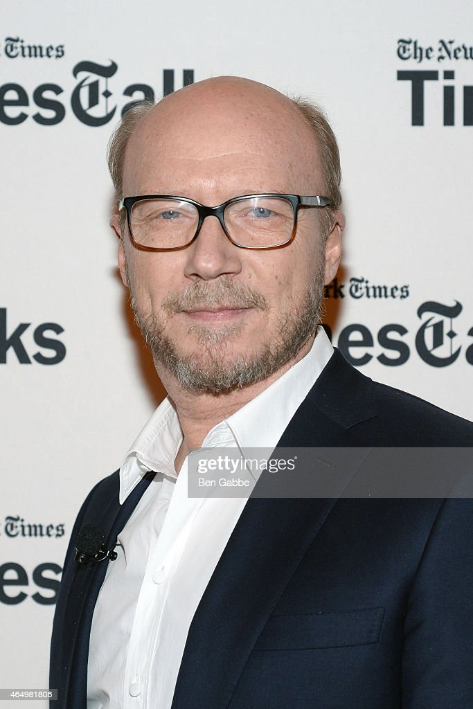 Screenwriter/director Paul Haggis attends TimesTalks Presents An Evening With 'Going Clear: Scientology and the Prison of Belief' at The Times Center on March 2, 2015 in New York City.