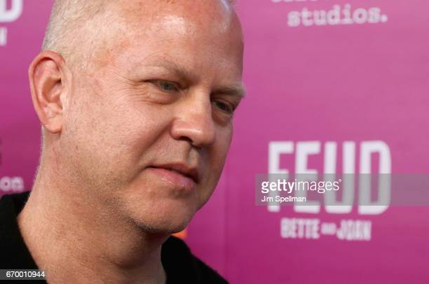 Screenwriter/director/producer Ryan Murphy attends the 'Feud Bette and Joan' NYC event at Alice Tully Hall at Lincoln Center on April 18 2017 in New...