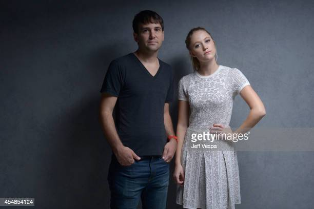 Screenwriter/producer David Robert Mitchell and actress Maika Monroe of 'It Follows' pose for a portrait during the 2014 Toronto International Film...