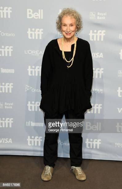 Screenwriter/producer Margaret Atwood attends 'Alias Grace' Press Conference during the 2017 Toronto International Film Festival at TIFF Bell...