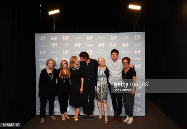 Screenwriter/producer Margaret Atwood producer Sarah Polley actors Sarah Gadon Edward Holcroft director Mary Harron actor Kerr Logan and executive...