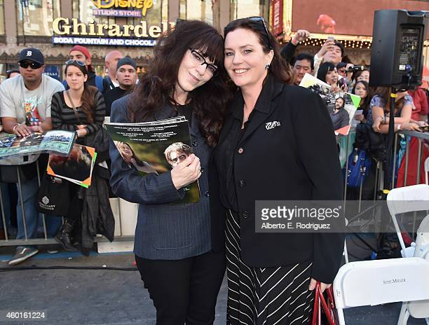 Screenwriter/producers Fran Walsh and Philippa Boyens attend a ceremony honoring Sir Peter Jackson with the 2538th Star on The Hollywood Walk of Fame...