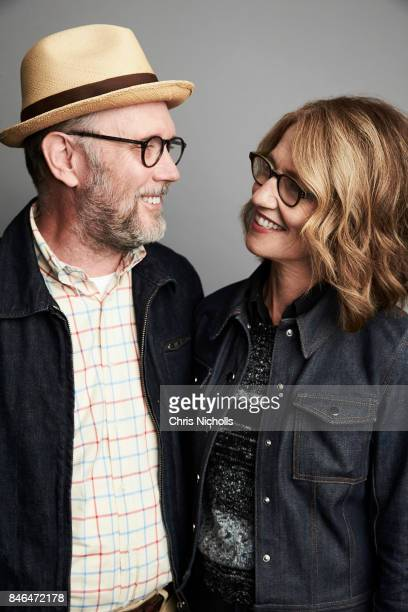Screenwriters Jonathan Dayton and Valerie Faris of Fox Searchlight Pictures' 'Battle of the Sexes' are photographed at the Toronto Film Festival for...