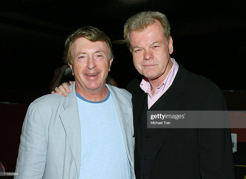 Screenwriters Larry Cohen and David S Ward attend the Los Angeles special screening of 'Tales From The Script' held at the Egyptian Theatre on August...