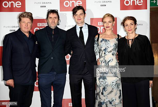 Screenwriters Robert Wade and Neal Purvis actors Sam Riley and Kate Bosworth and executive produver Sally Woodward Gentle attend the photocall of the...