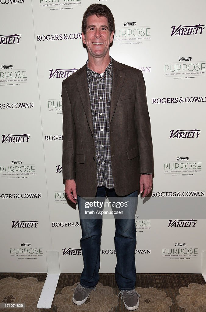 Screenwritier Cinco Paul attends Variety's Purpose: The Faith And Family Summit in Association with Rogers and Cowan at Four Seasons Hotel Los Angeles on June 21, 2013 in Beverly Hills, California.