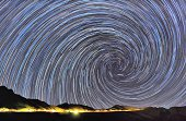 Screw Star Trails