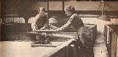 Screwing Down the Yeast in a BurtonOnTrent Brewery circa 1916 Women screwing down the yeast in a BurtonOnTrent brewery during World War I From His...