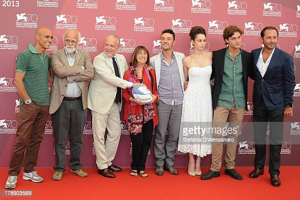Scriptwriter and director Stefano Rulli producer Aurelio de Laurentiis producer Elisabetta Bruscolini director Enrico Maria Artale actress Margherita...