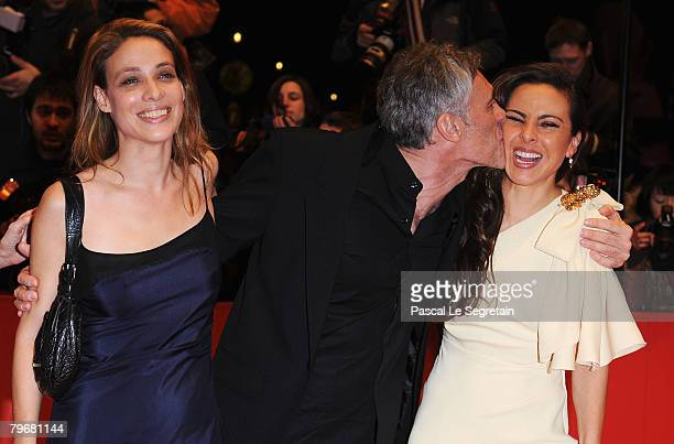 Scriptwriter Aude Py Director Erick Zonca and Kate del Castillo at the 'Julia' Premiere as part of the 58th Berlinale Film Festival at the Berlinale...