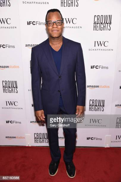 Scrrenwriter director and professor Geoffrey Fletcher attends the 'Crown Heights' New York premiere at The Metrograph on August 15 2017 in New York...