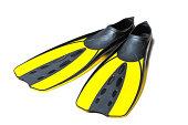 Scuba diving fins, flippers