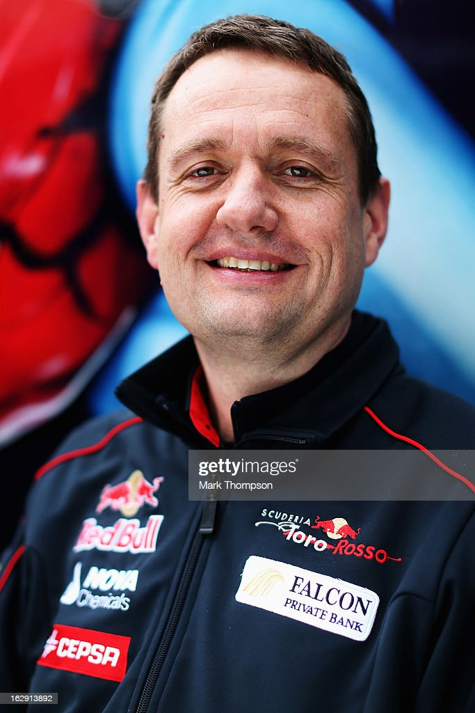 Scuderia Toro Rosso Sporting Director Steve Nielsen poses for a photograph during day two of Formula One winter testing at the Circuit de Catalunya on March 1, 2013 in Montmelo, Spain.