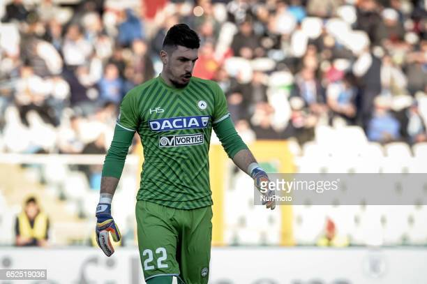 Scuffet Simone during the Italian Serie A football match Pescara vs Udinese on March 15 in Pescara Italy