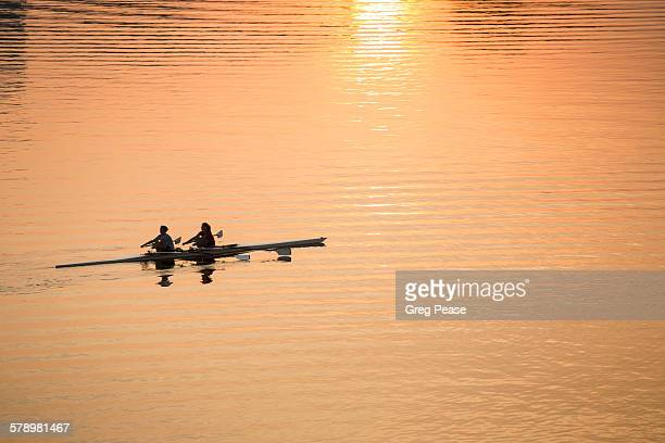 Sculling at Dawn