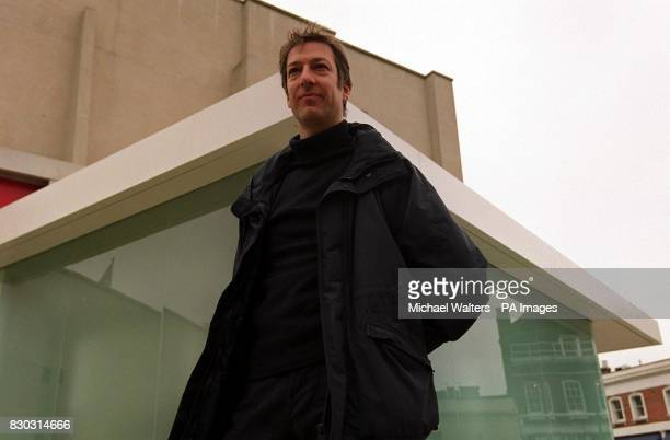 Sculptor Alex Hartley unveils the giant glass box which has won him the UK's biggest annual art cash prize to date The 36 year old was at the launch...