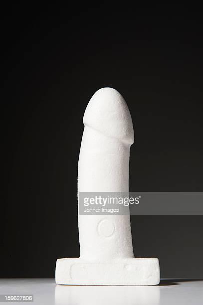 Sculpture depicting penis