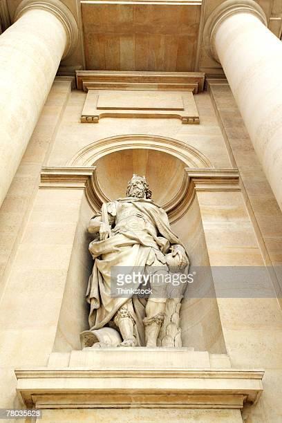 Sculpture in niche, Hotel des Invalides, Paris