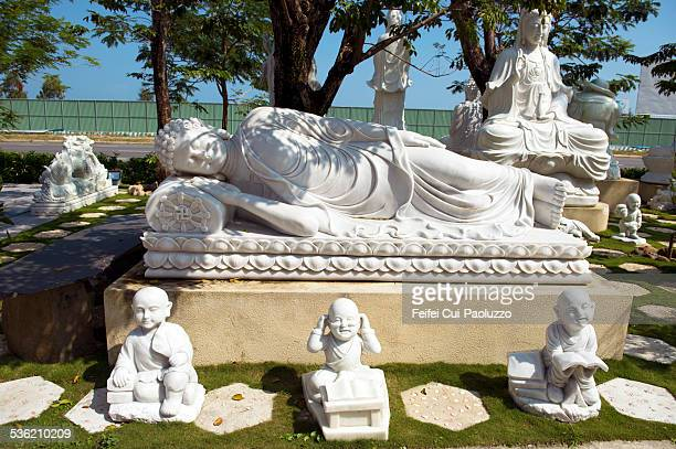 Sculpture of Bouddha at Da Nang Vietnam