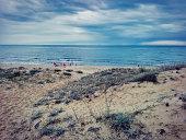 Photo of the sea and coast.