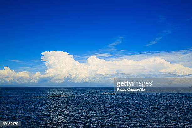 Sea and sky, Kochi Prefecture, Japan