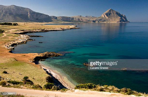 Sea and the Mountain in Sicily