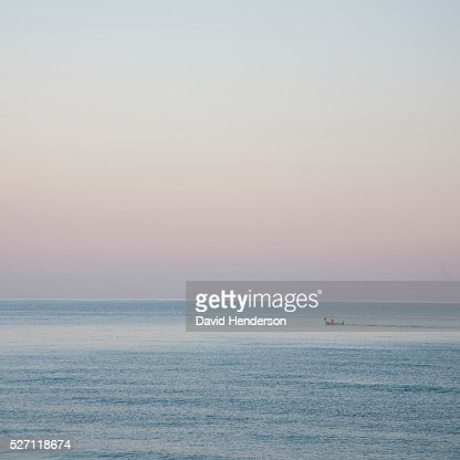 Sea at dawn : Stock Photo