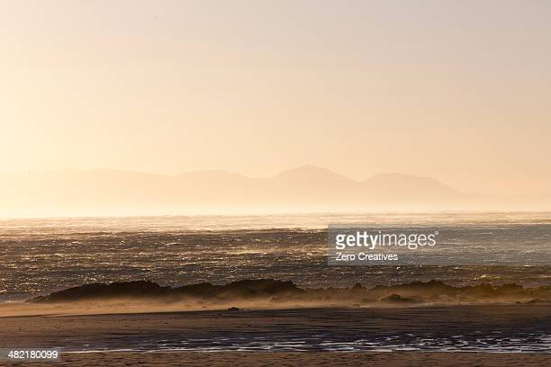 Sea at sunset, Cape Town, South Africa