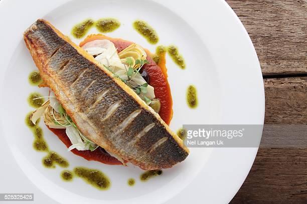 sea bass meal