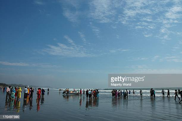 Sea beach of Cox's Bazar Cox's Bazar the tourist capital of Bangladesh having the world's longest beach sloping gently down to the blue waters of the...