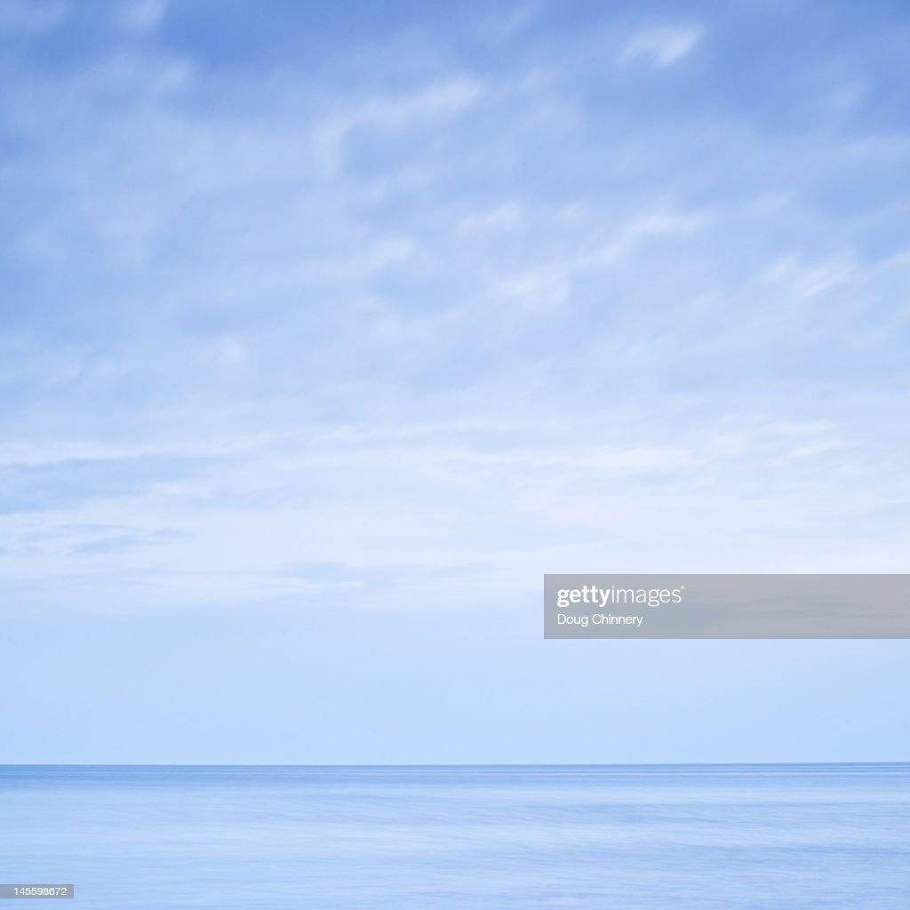 Sea blues : Stock Photo