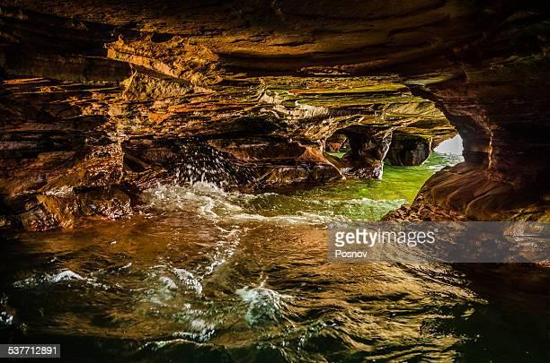 Sea Cave at Devils Island