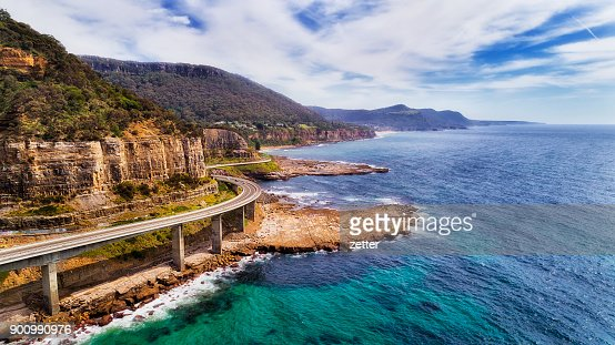 D Sea Cliff Bridge 2 Norh Side : Stock Photo